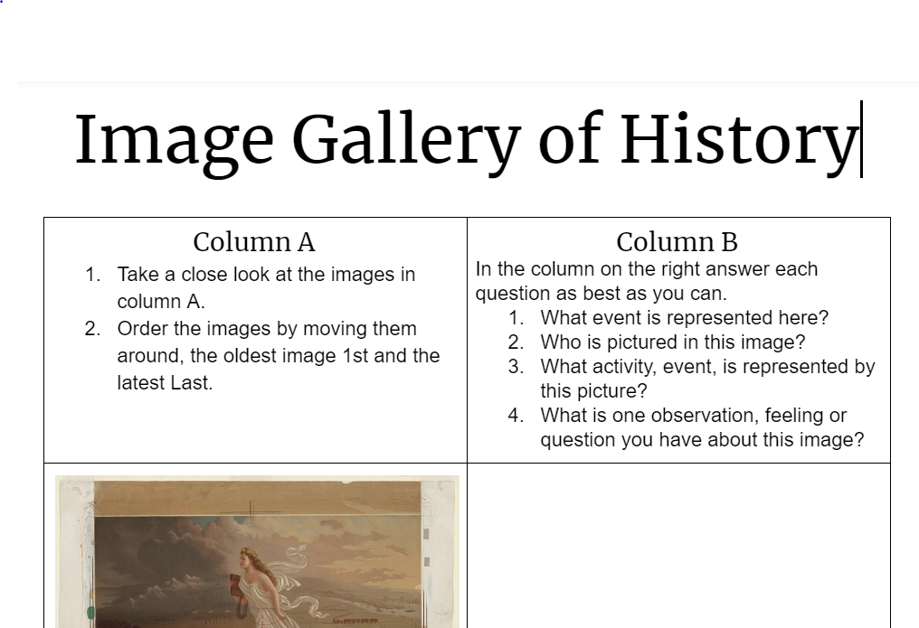 Gallery of History